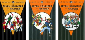 Seven Soldiers covers