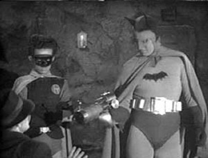 Douglas Croft and Lewis Wilson as Robin and Batman (publicity still)