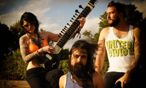 SONS OF HIPPIES (Katherine Kelly, Jonas Canales, David Daly) (publicity photo)