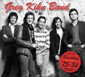Greg Kihn Band: THE BEST OF BERZERKLEY cover