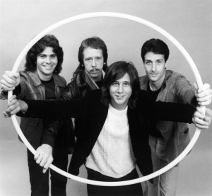 Greg Kihn Band, circa 1977 (Steve Wright, Dave Carpender, Greg, Larry Lynch) (publicity photo)