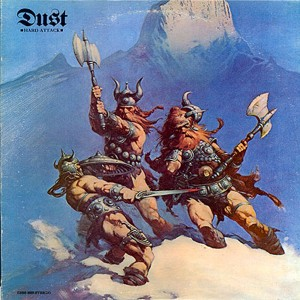 HARD ATTACK (original album cover with FRANK FRAZETTA artwork)