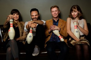 Lake Street Dive (Bridget Kearney, Mike Calabrese, Mike Olson, Rachel Price) (publicity photo)