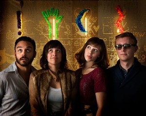 Lake Street Dive (Mike Calabrese, Bridget Kearney, Rachel Price, Mike Olson) (publicity photo)