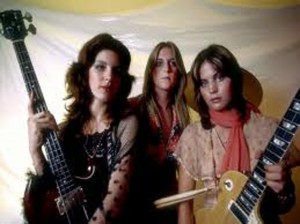 The Runaways, circa 1975 (Micki Steele, Sandy West, Joan Jett) (photo credit: GETTY IMAGES)