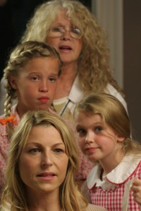 SAVING GRACE B JONES: Connie Stevens, Evie Louise Thompson, Rylee Fansler and Tatum O'Neal (publicity photo)