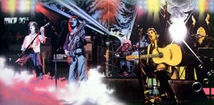 WINGS OVER AMERICA inner gatefold painting by JEFF CUMMINS