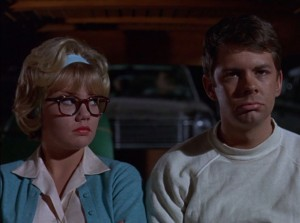 THAT DARN CAT (Hayley Mills and Tom Lowell) (publicity still)