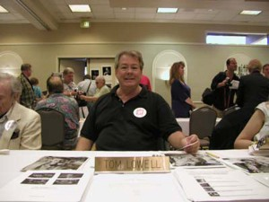 Lowell Thomas (Tom Lowell) at the 2002 TWILIGHT ZONE convention (uncredited photo)