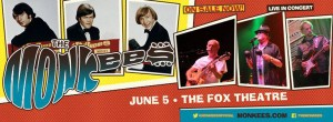 The Monkees Fox Theatre ad