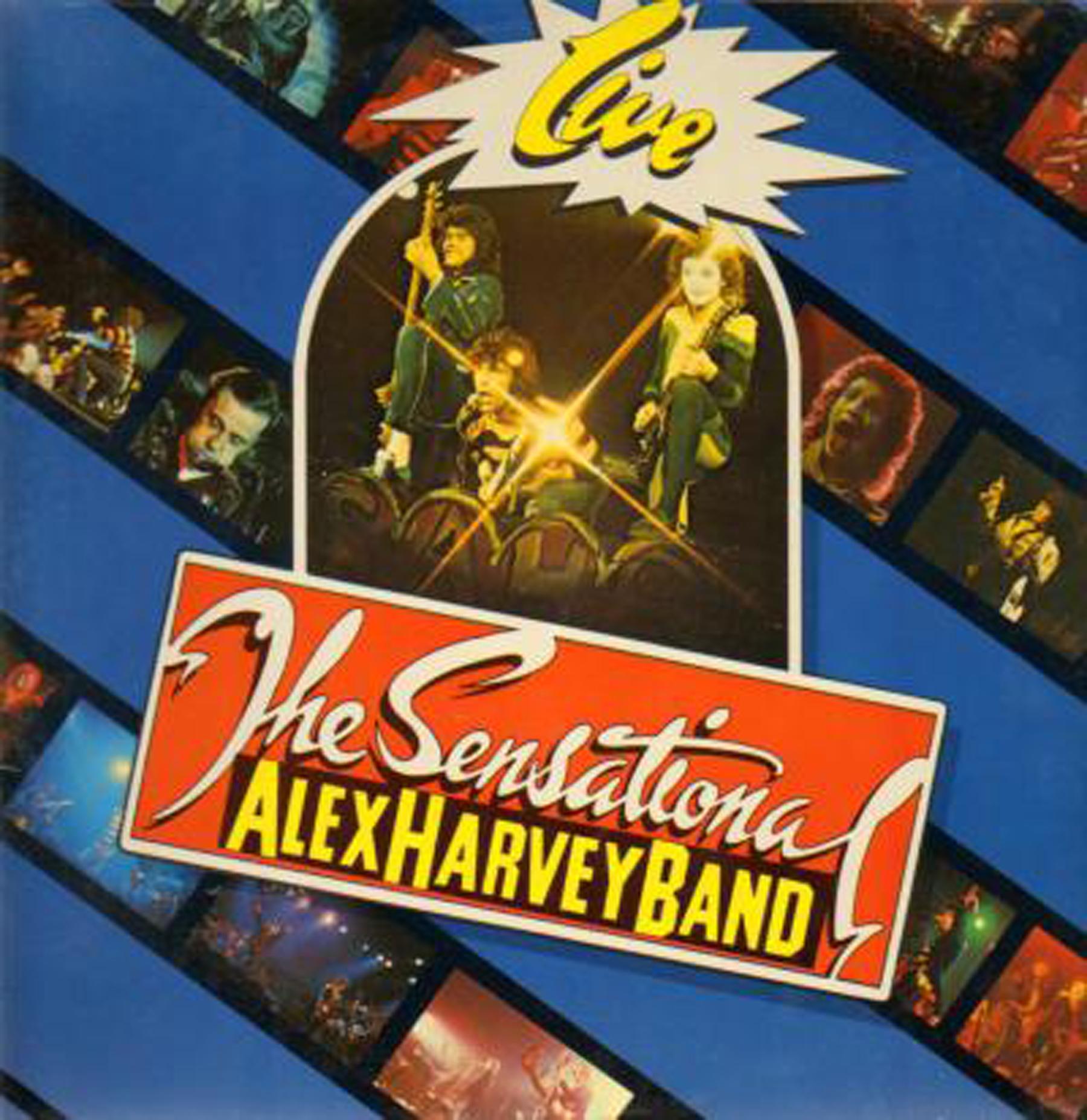 The Sensational Alex Harvey Band Framed