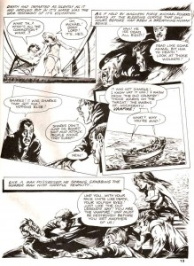 "VAMPIRELLA #1 (""Death Boat"" written by DON GLUT, art by BILLY GRAHAM)"