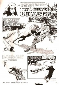 "VAMPIRELLA #1 (""Two Silver Bullets"" written by DON GLUT, art by REED CRANDALL)"