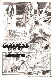 "VAMPIRELLA #1 (""Goddess From the Sea"" written by DON GLUT, art by NEAL ADAMS)"