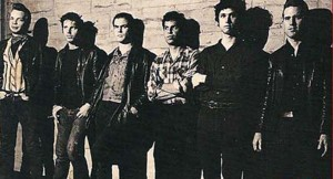 Flesh Eaters (Dave Alvin, John Doe, Chris D, Steve Berlin, DJ Bonebrake, Bill Bateman) (photo credit: SCOTT LINDGREN)