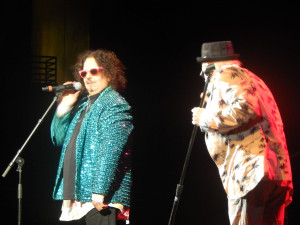 The Turtles' Mark Volman and Howard Kaylan (photo credit: DARREN TRACY)
