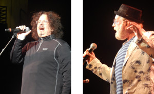 The Turtles: Mark Volman; Howard Kaylan (photo credit: DARREN TRACY)