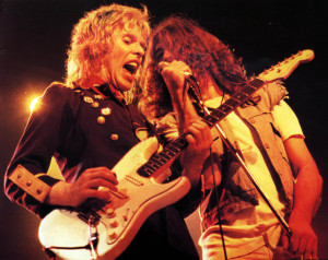 Gillan, circa 1980 (Bernie Torme and Ian Gillan) (uncredited photo)