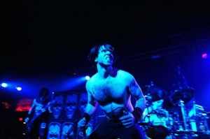 Doyle's Alex Story onstage (uncredited photo)
