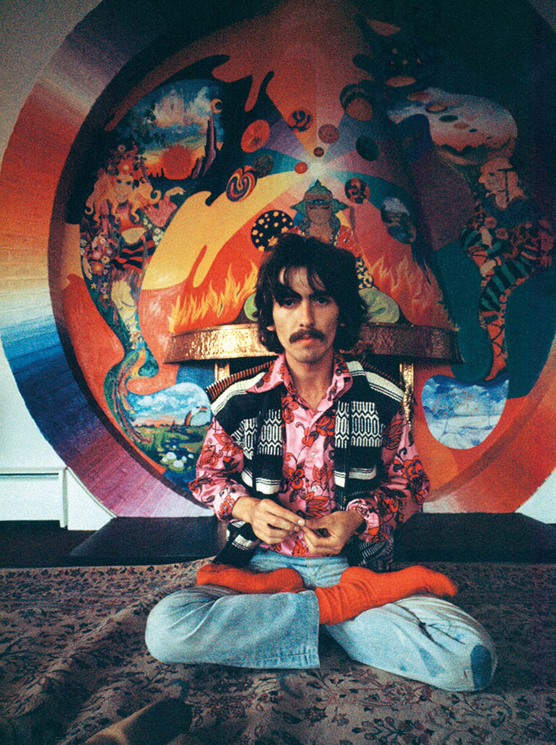 George Harrison 1967 Photo Courtesy Of And Copyrighted By THE HARRISON FAMILY