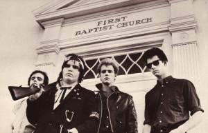 The Gun Club, 1981 (Terry Graham, Jeffrey Lee Pierce, Ward Dotson, Rob Ritter (photo credit: ED COLVER)