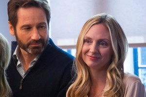 LOUDER THAN WORDS (David Duchovny and Hope Davis) (publicity still)