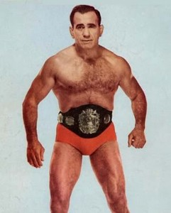 Multi-time World Heavyweight Champion Lou Thesz (publicity photo)