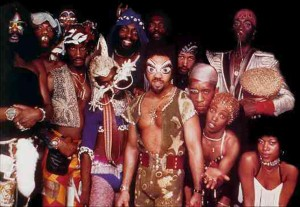 The Parliament-Funkadelic machine, late 1970s (publicity photo)