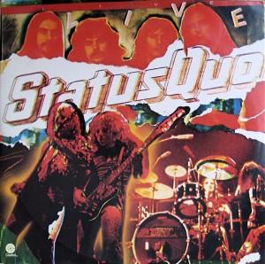 Status Quo Live US cover