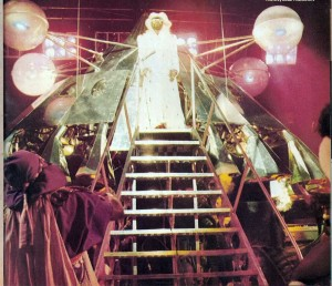 George Clinton exits the Mothership, circa 1978 (uncredited photo)