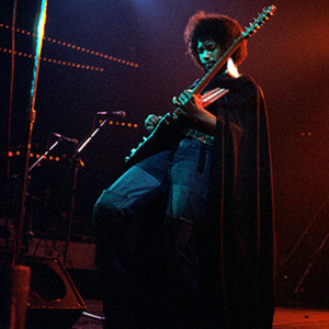 Guitar wunderkind Eddie Hazel, circa 1977 (MICHAEL OCHS ARCHIVE/GETTY IMAGES)