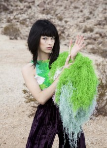 Kimbra (photo credit: THOM KERR)
