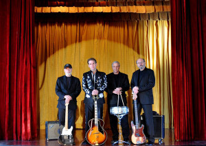 Brian Capps and the True Liars (D Clinton Thompson, Brian Capps, Ron Gremp, Lou Whitney) (publicity photo)