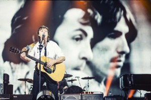 Paul McCartney's tribute to George Harrison, OUT THERE TOUR 2013 (photo credit/copyrighted by MJ KIM)