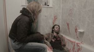WEREWOLF RISING (Melissa Carnell and Matt Copko) (publicity still)
