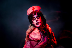 Alice Cooper (Calico Cooper as Nurse Sheryl) (photo credit: PEP BONET)
