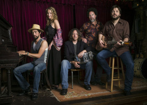 Trigger Hippy (Jackie Greene, Joan Osborne, Steve Gorman, Nick Govrick, Tom Bukovac) (photo credit: JACOB BLICKENSTAFF)