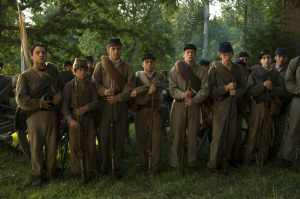 FIELD OF LOST SHOES (Sean Marquette, Nolan Gould, Luke Benward, Max Lloyd-Jones, Parker Croft, Josh Zuckerman) (photo courtesy: BOSCH MEDIA)