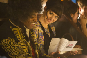 JIMI: ALL IS BY MY SIDE ( Andre Benjamin and Imogen Poots) (photo credit: PATRICK REDMOND)