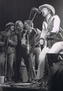 Jerry Jeff Walker with Lost Gonzos, circa 1973 (photo credit: Steve Knagg)