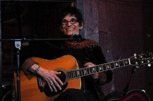 Ruthann Friedman, on stage in 2011 (photo credit: JOE MABEL)