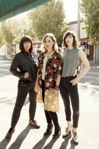 Sleater-Kinney (Janet Weiss, Corin Tucker, Carrie Brownstein) (photo credit: Brigitte Sire)