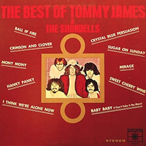 THE BEST OF TOMMY JAMES AND THE SHONDELLS (ROULETTE RECORDS, 1969)