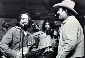 Willie Nelson, Jack Rodgers and Jerry Jeff Walker (uncredited photo)
