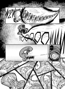 LASER DOG, ISSUE ONE (page 23, by GREG MCCRARY)