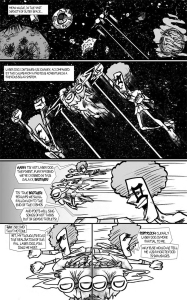 LASER DOG, ISSUE ONE (page 14, by GREG MCCRARY)