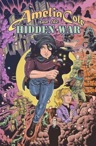AMELIA COLE AND THE HIDDEN WAR (cover art NICK BROKENSHIRE)