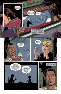 AMELIA COLE AND THE IMPOSSIBLE FATE, issue 20, page 2 (Written by ADAM P KNAVE and DJ KIRKBRIDE, art by NICK BROKENSHIRE)