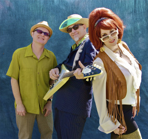 Southern Culture On the Skids (Dave Hartman, Rick Miller, Mary Huff) (promotional photo)