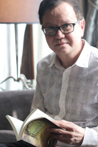Author Eric Gamalinda (photo credit: ROME JORGE)